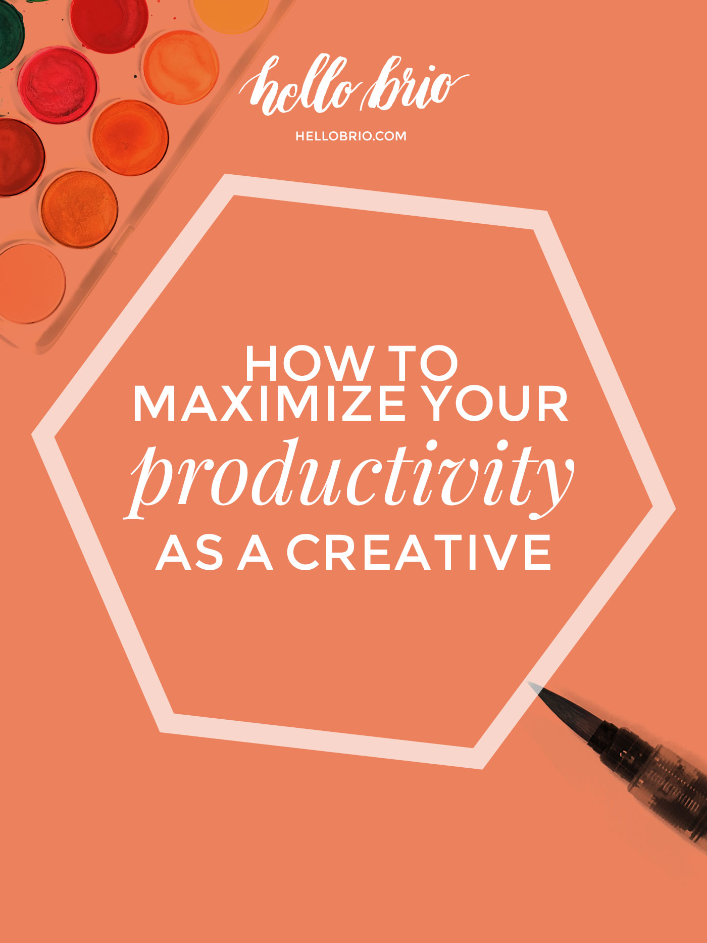 How to maximize your productivity as a creative