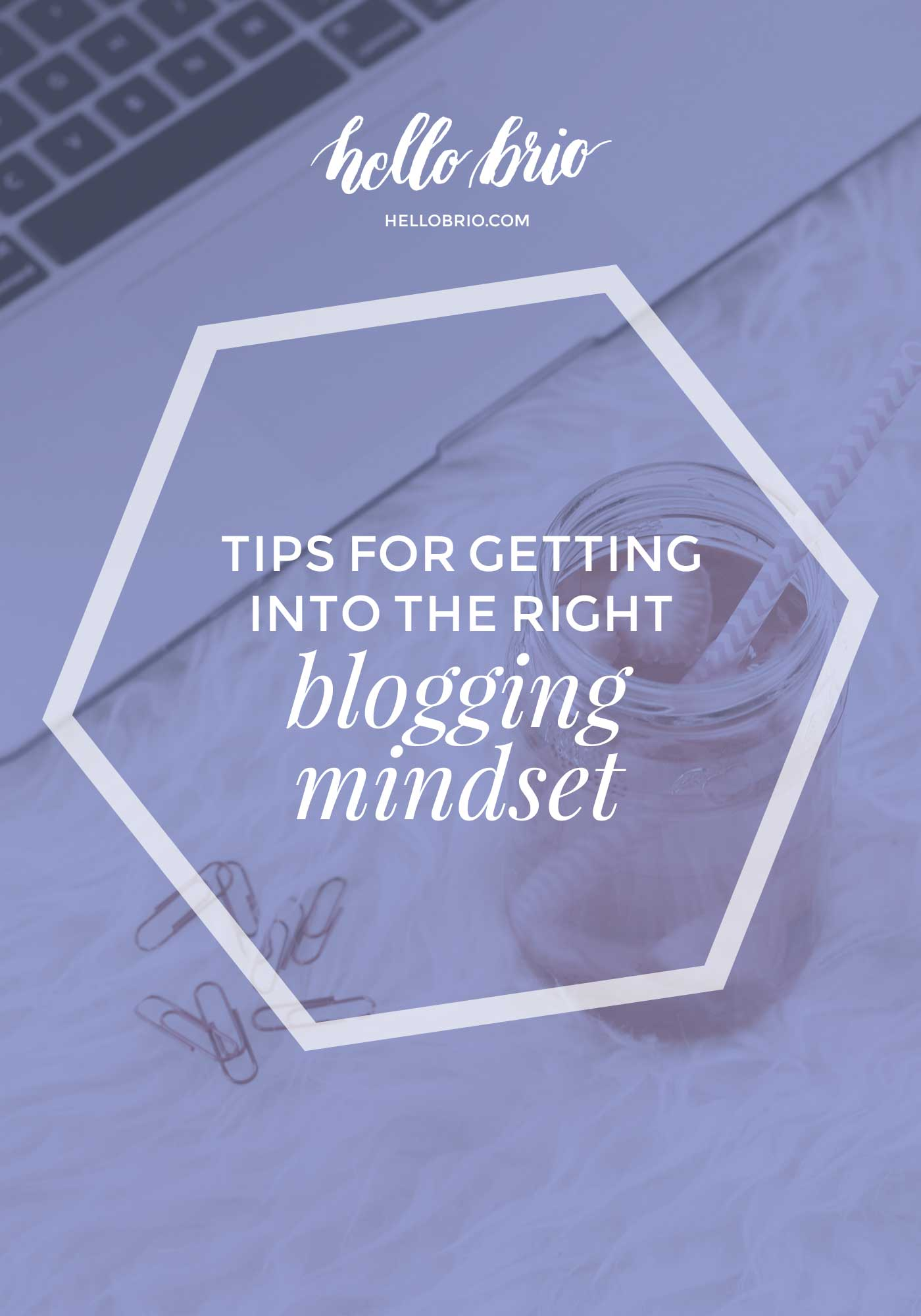 How to start blogging and writing: Tips for finding the right mindset | Hello Brio