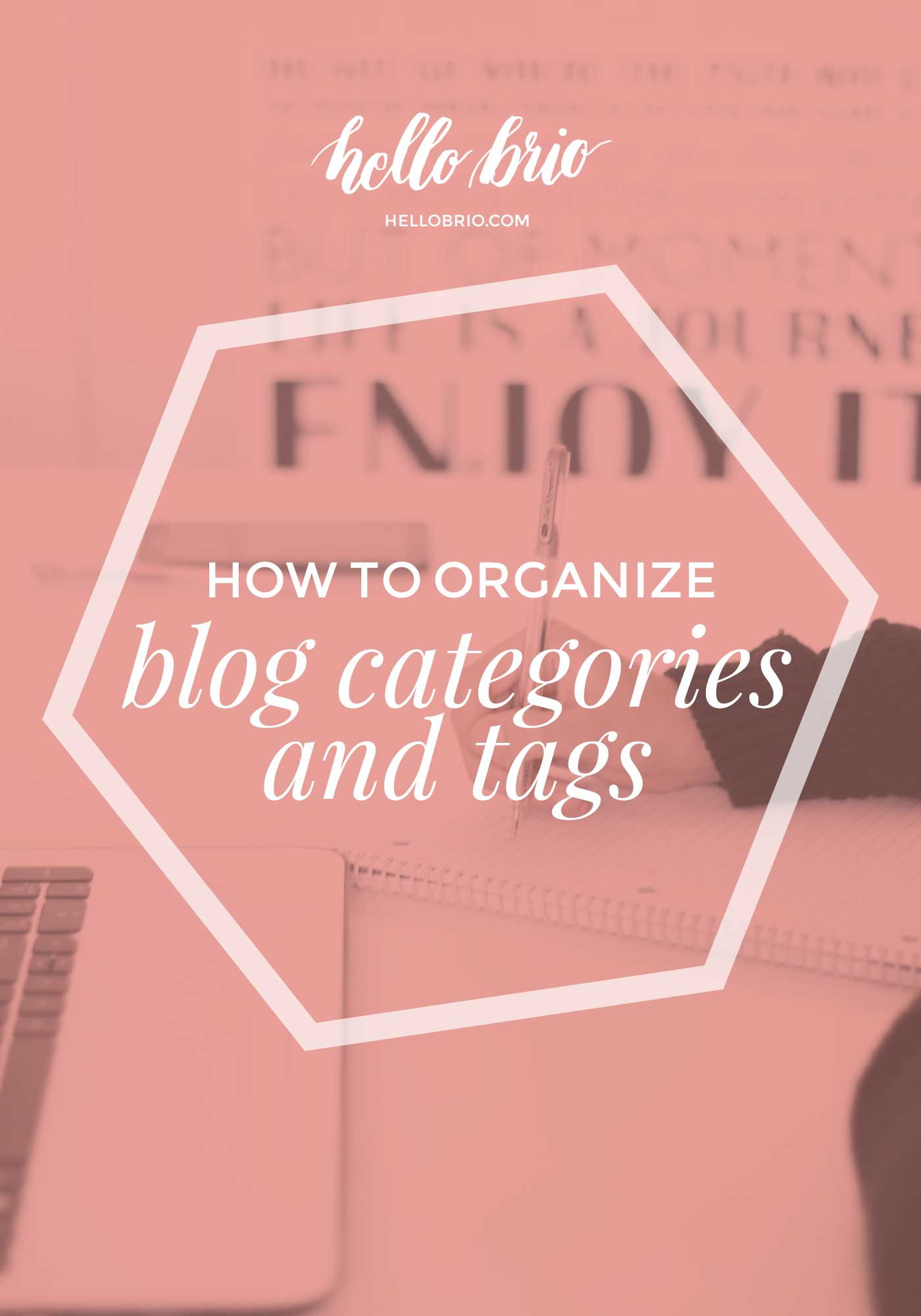 How to organize your blog   Categories versus tags