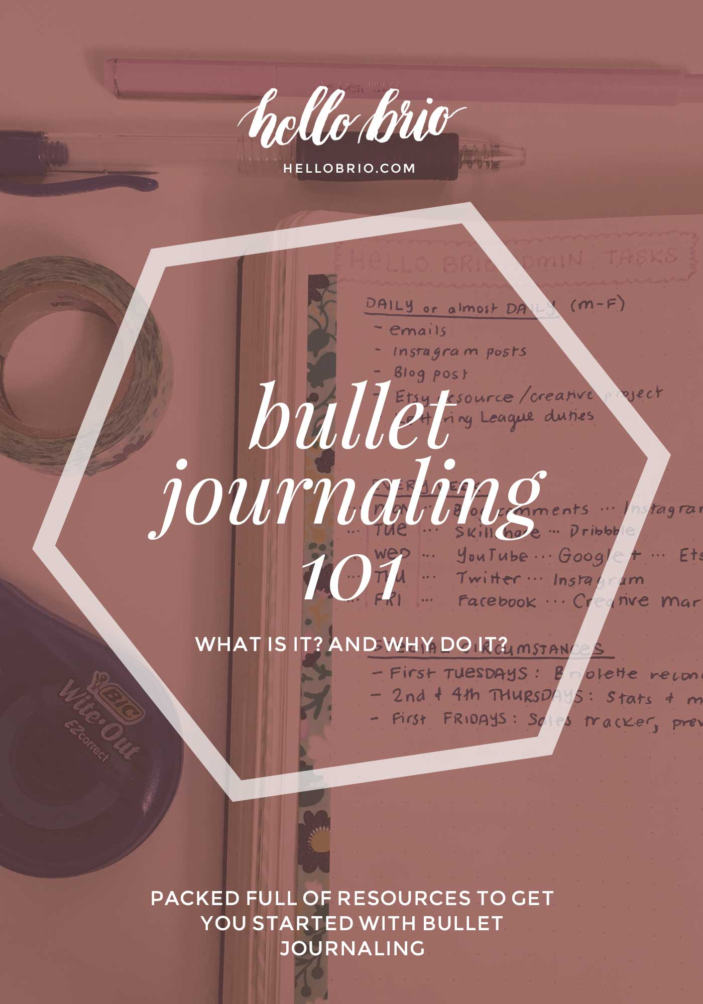 Bullet Journaling 101: What is it, and why do it?