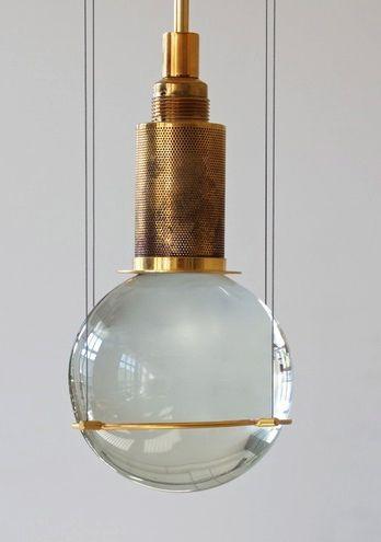 Postmodern pendant lamp by  Günter Leuchtmann , Berlin