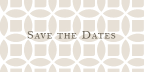 The Collection Save the Dates