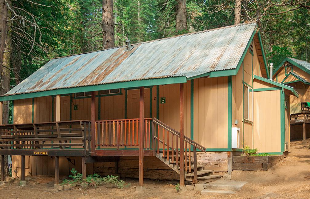 Sugar Pine Twin Pines Cabin