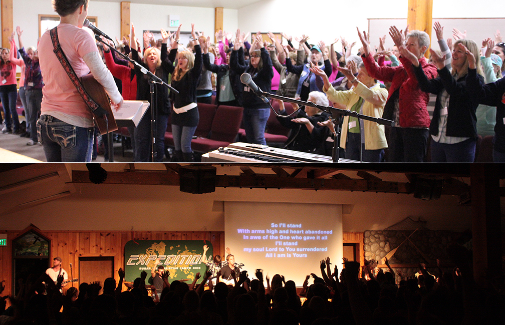 Sugar Pine Chapel Interior (worship)