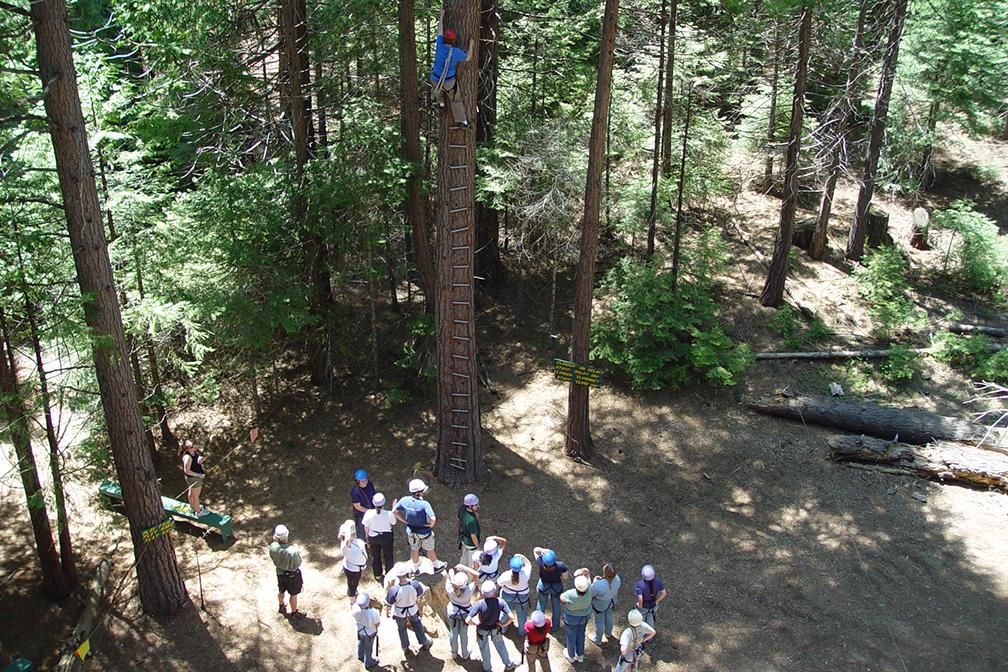 Church Retreat - Sky Park high ropes course