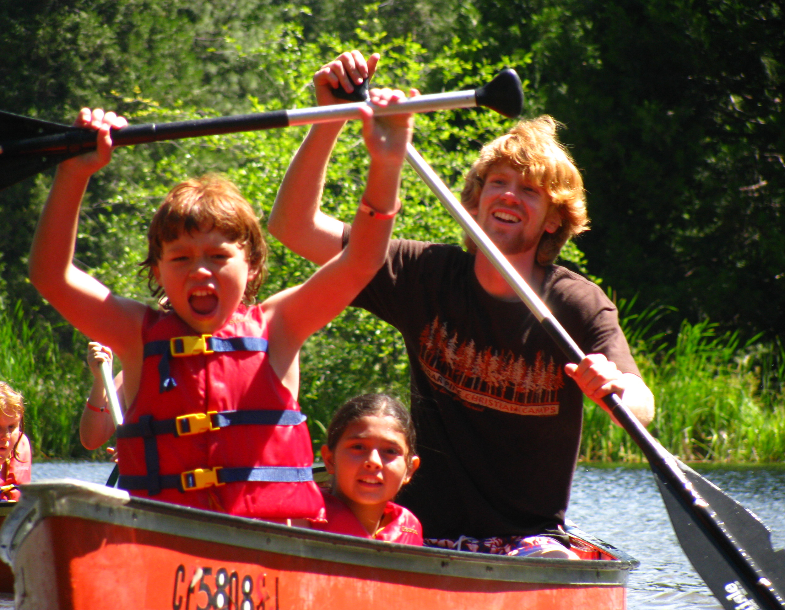 Canoe on Lower Pond