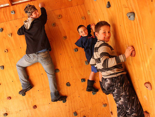 Bouldering Wall -