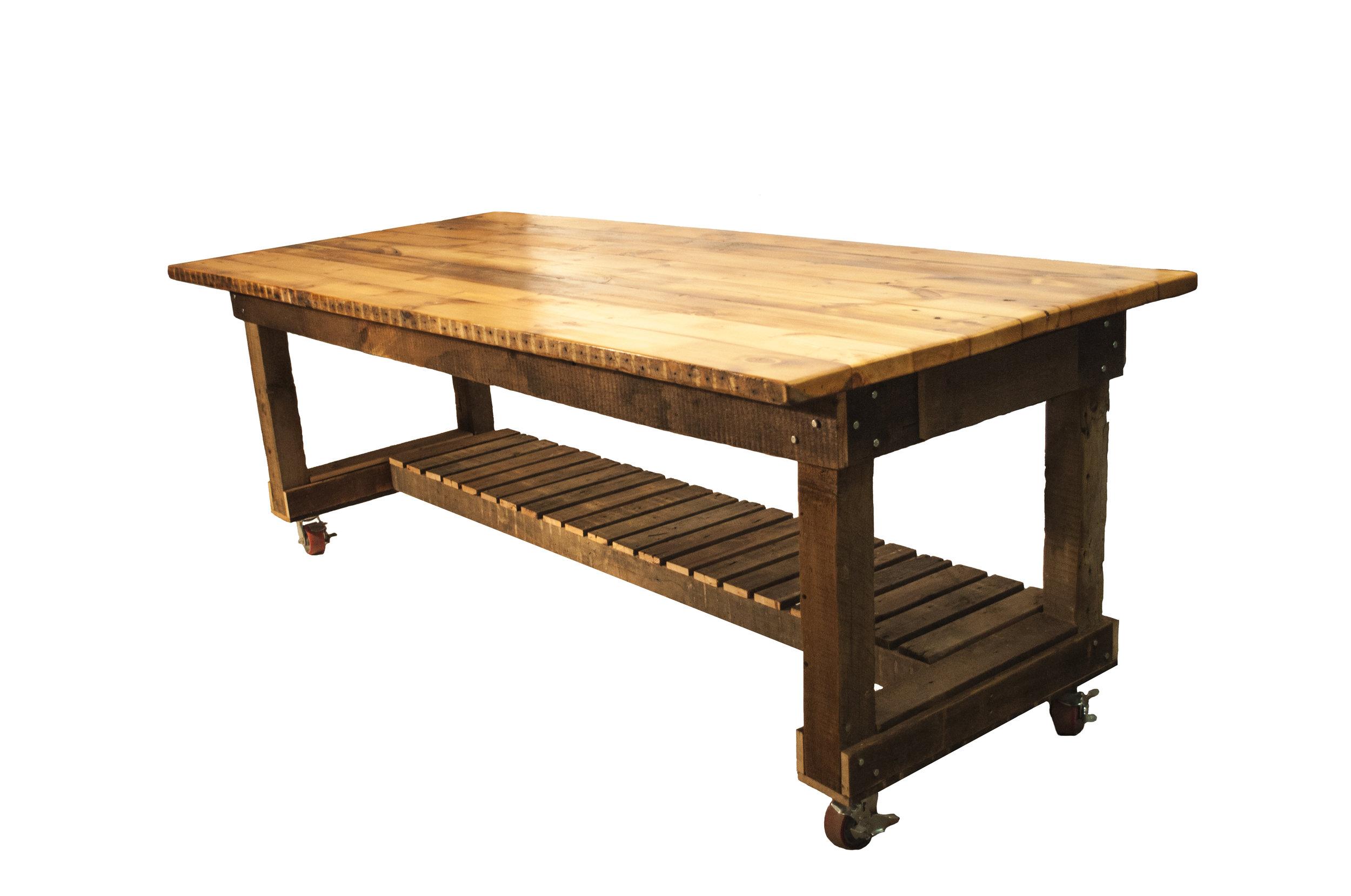 Custom Work Bench for Swoon Living