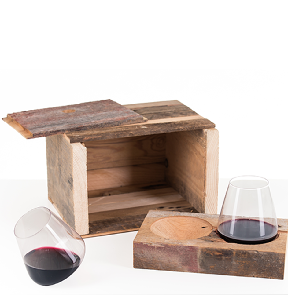 Wine Glass Gift Set for Swoon Living