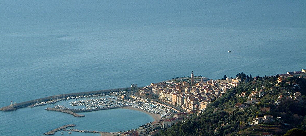 Menton from the hills