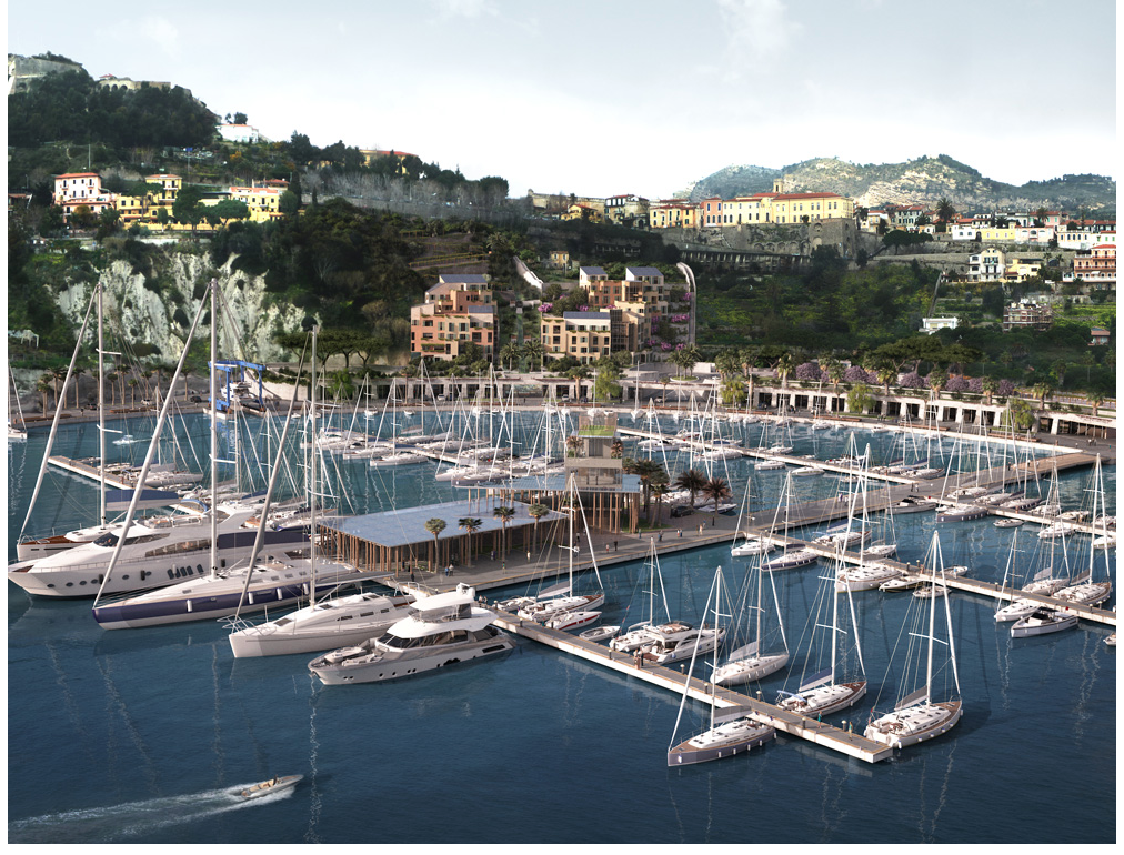 The projected new marina in Ventimiglia.  This will take a long time but is sadly needed and will be a fantastic improvement to the whole area.