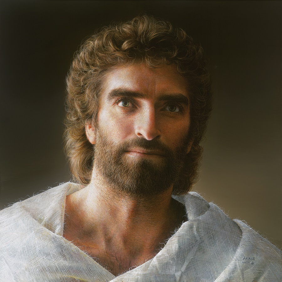 Painting by Akiane Kramarik ( https://akiane.com/product/jesus/ )