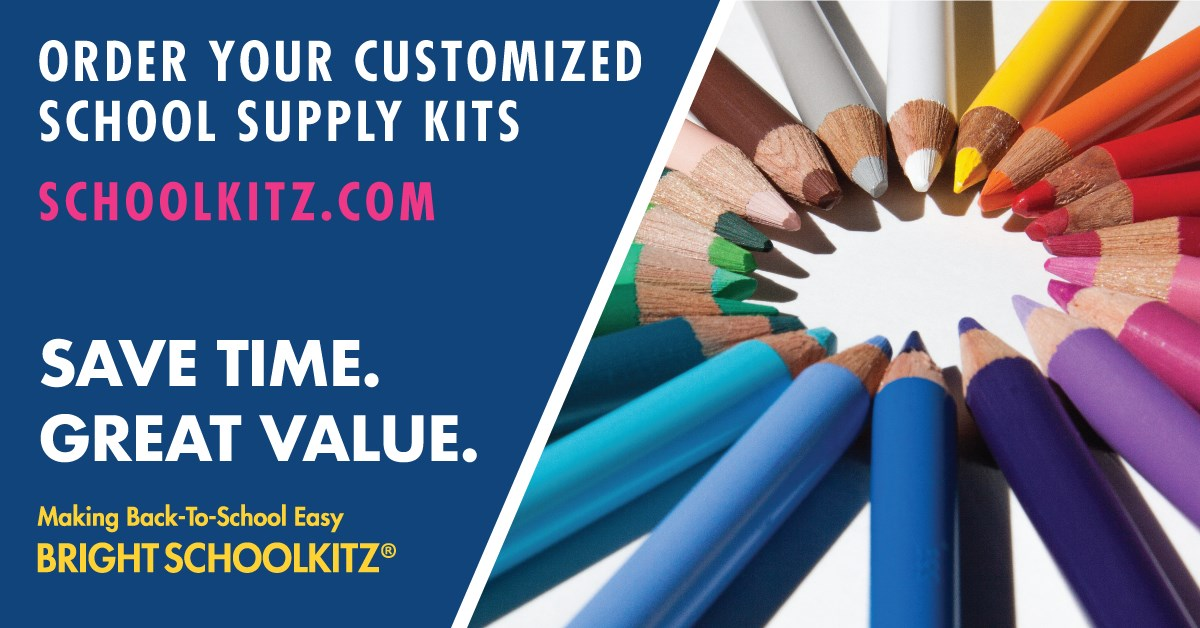 NEW! CUSTOM SCHOOL KITS ON SALE NOW! Customized school kits that match the teachers' list at  https://www.schoolkitz.com/Store/School/3183 . The BEST part is: the kits will be delivered to the school! If you have any questions contact our PTM at ptm@ecsonline.cc.   Supplies are competitively priced against local retailers and are filled with brand name & quality products. $5 discount for each kit ordered by the last day of school.  **PLEASE NOTE YOUR TEACHER'S LIST as some items may not be included (i.e. NIV student bible, PE shoes, etc.)