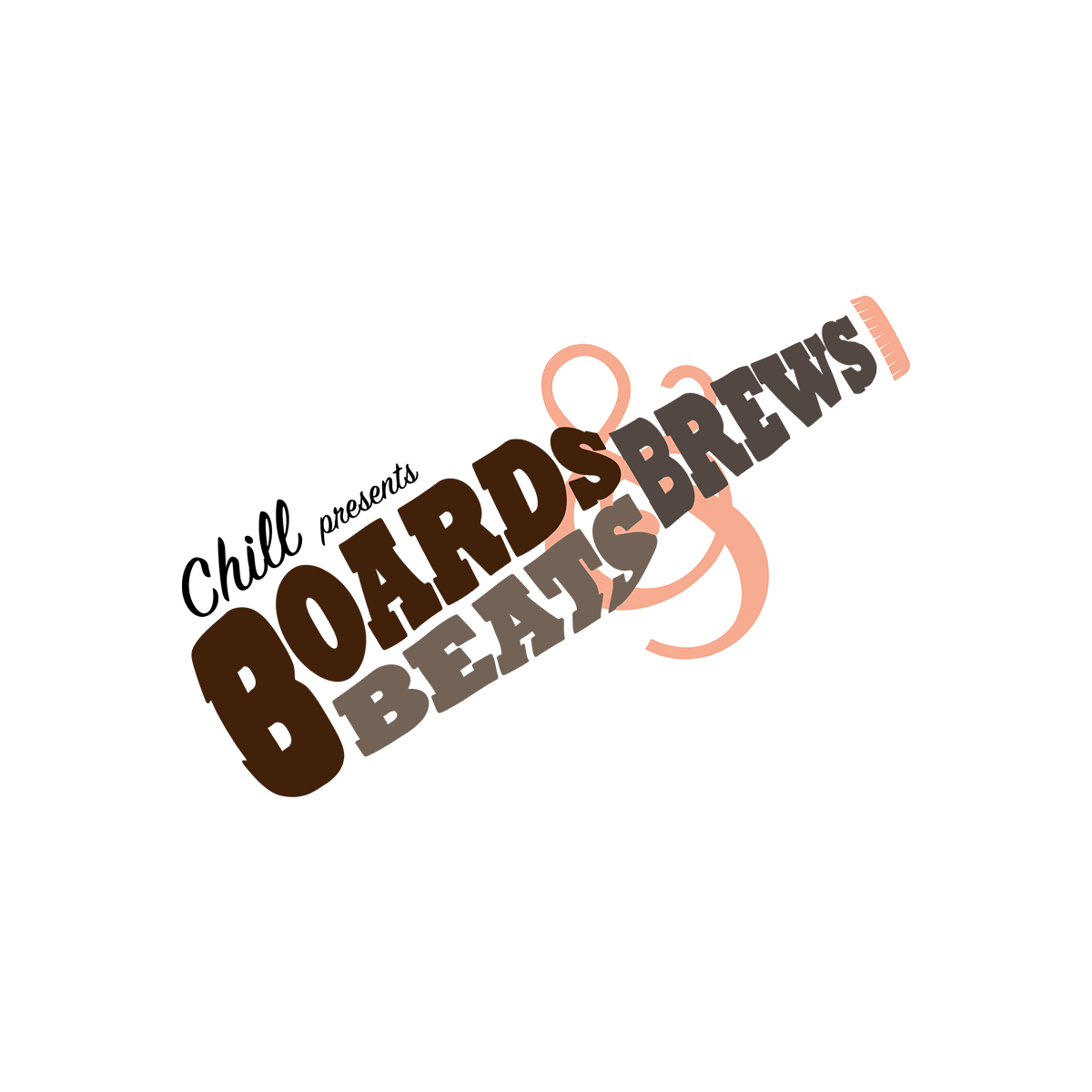 Boards, Beats & Brews Event Logo
