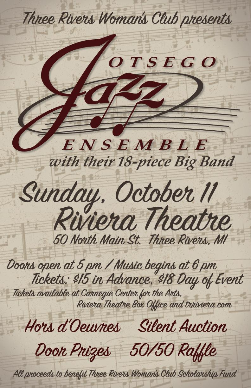 Otsego Jazz Ensemble Poster