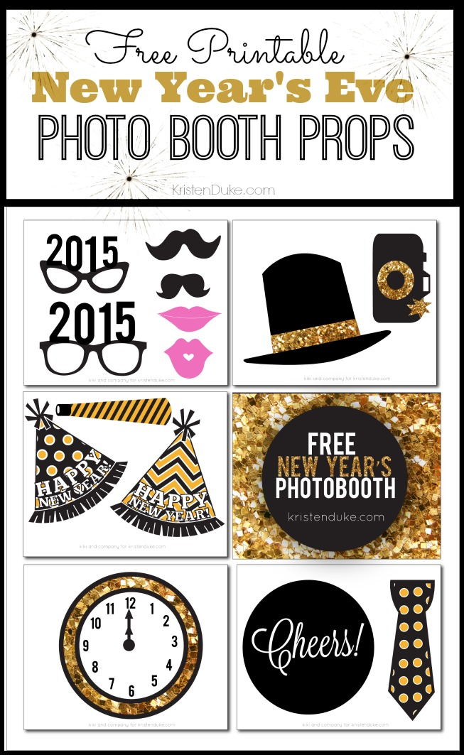 στο  http://www.kristendukephotography.com/new-years-eve-photo-booth-free-printables/
