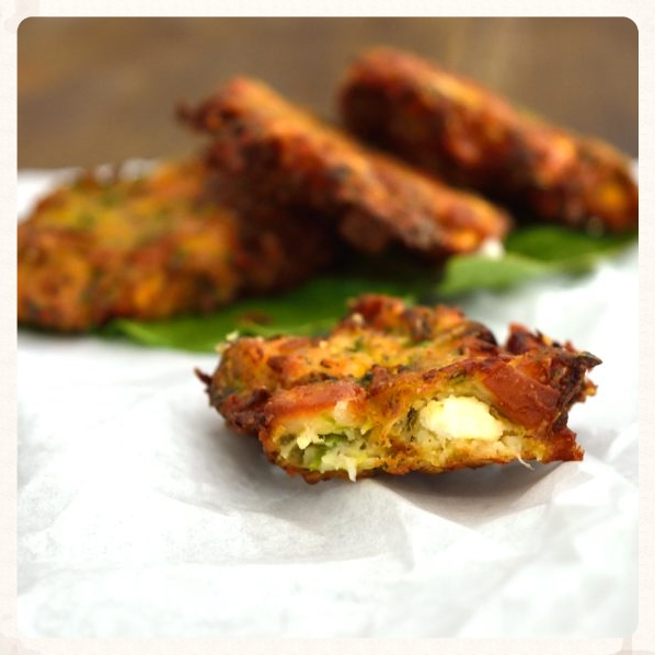 UNBEATABLE ZUCCHINI FRITTERS
