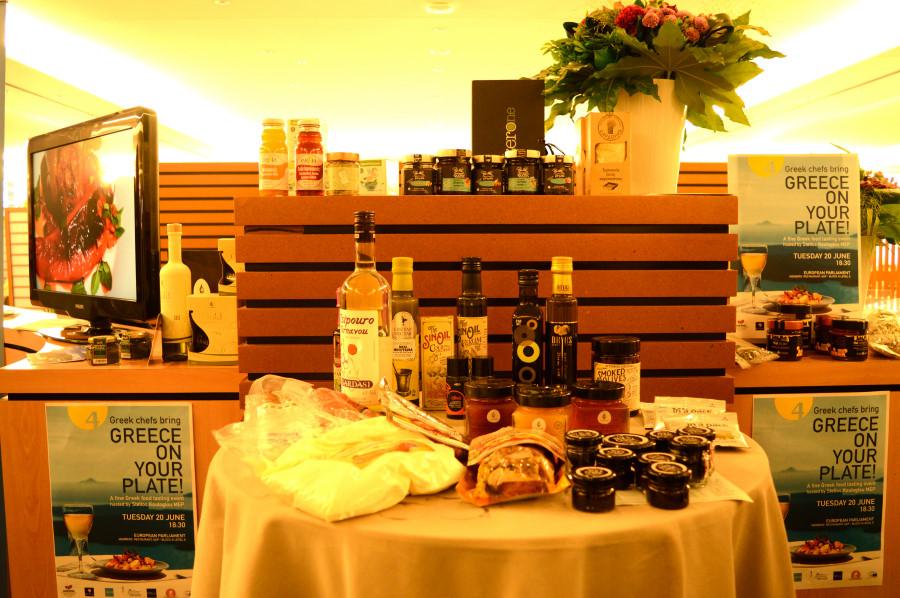 Τα προϊόντα, είσοδος εκδήλωσης στο Ευρωπαϊκό κοινοβούλιο
