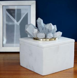 West Elm Eduardo Garza Crystal Box