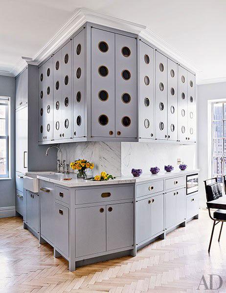 Architectural Digest, Greenwich village penthouse designed by Rafael de Cardenas,