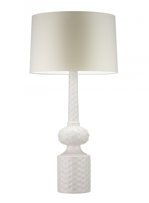 Heathfield & Co Babylon Ivory Table Lamp