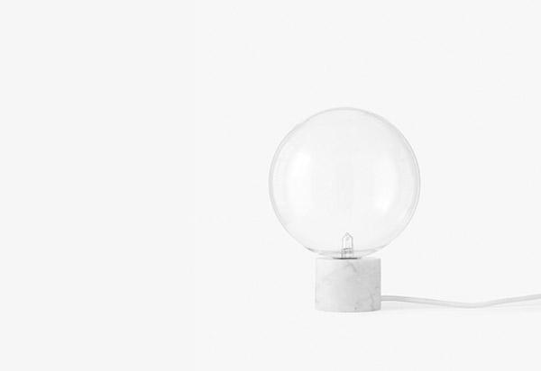 Marble Table Lamp,Studio vit, TwentyTwentyOne