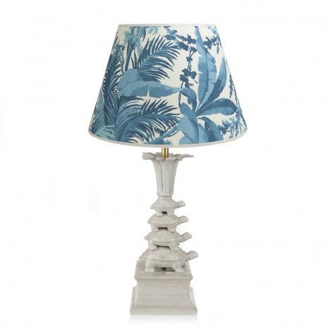 Pampas Cream Tortoise Lamp, House of Hackney