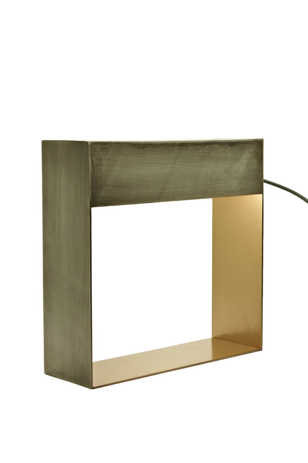 Squared Table lamp, French Connection