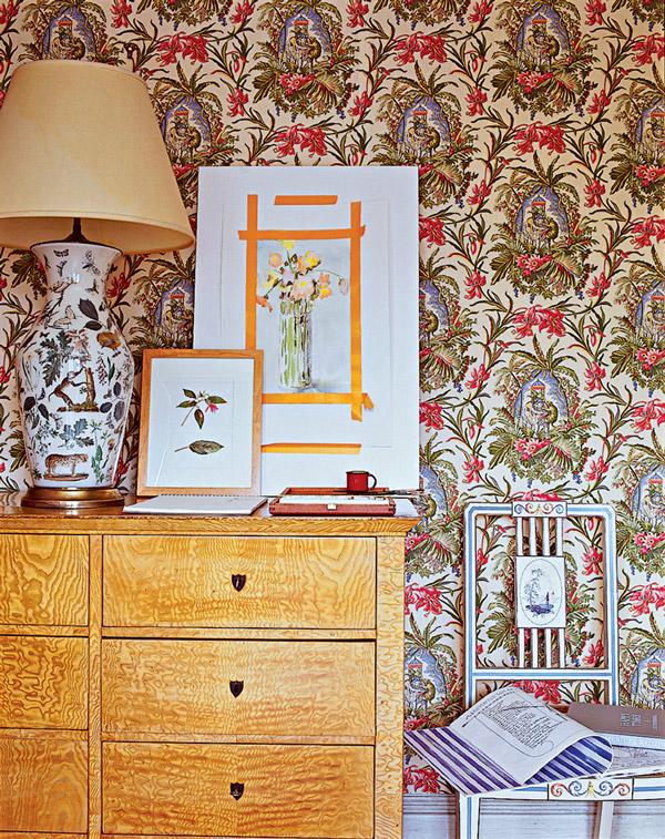 Lee Radziwill's New York apartment