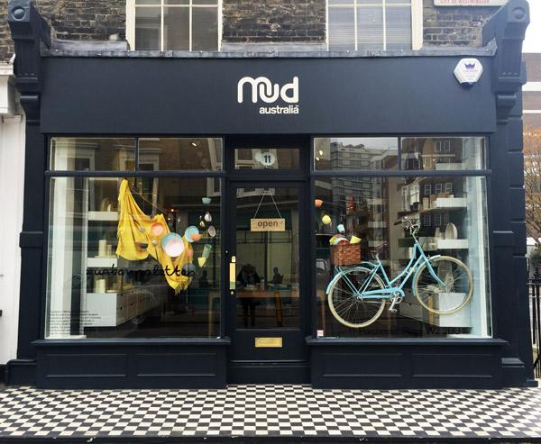 Mud Australia, London Store , homewares, porcelain