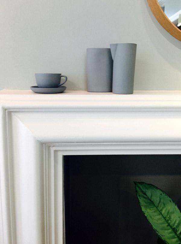 Mud Australia, London Store, ash, vase and cups , homewares, porcelain