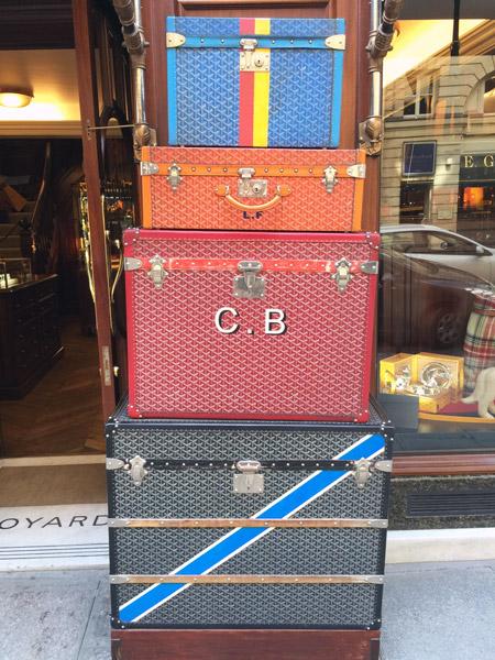 Goyard, Paris Rue Saint Honore