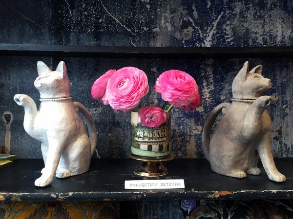 Astier de Villatte Cat teapot