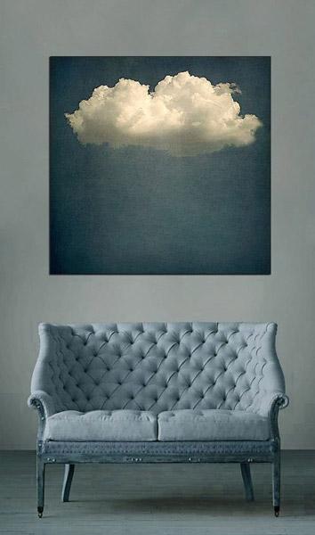 Inky Blue sofa