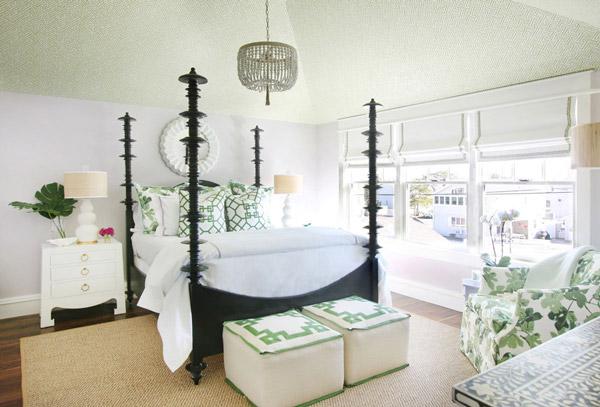 Jenny Wolf, Lonny Magazine, Long Beach Island Summer beach house, guest bedroom
