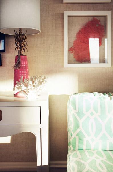 Jenny Wolf, Lonny Magazine, Long Beach Island Summer beach house, bedroom