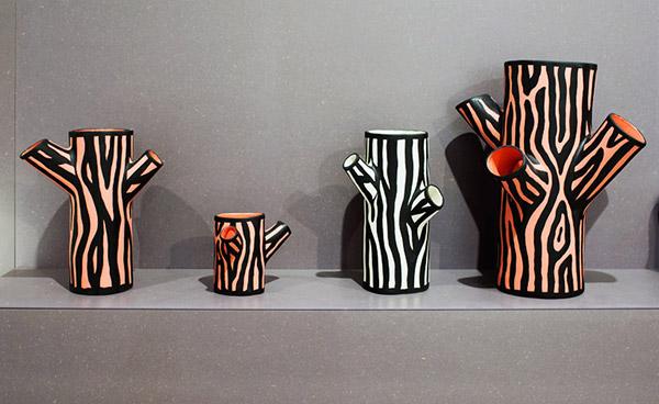 Hay, Richard Woods, Tree Trunk Vase