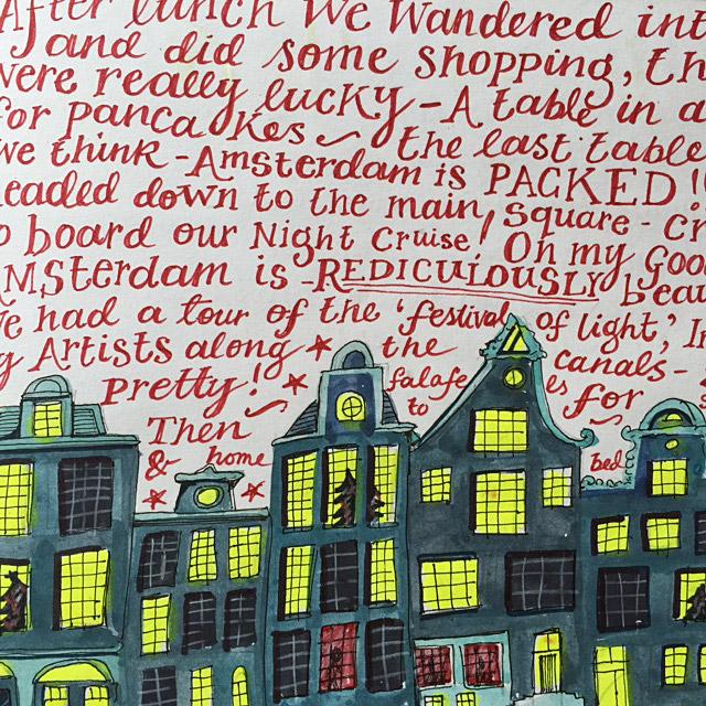 Jennie Maizels illustrated travel sketchbooks, Sketchbook Club Pop Up Books