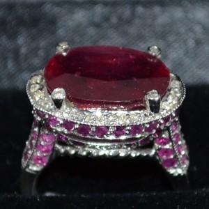 red jewel ring