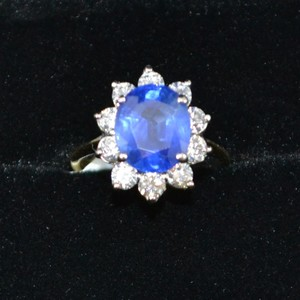 blue jewel ring