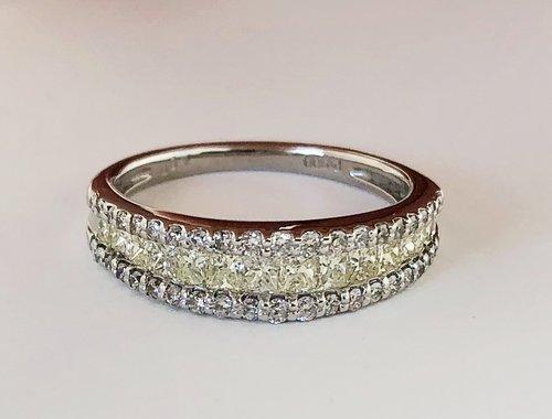 Diamond Rings — Trillion Jewels