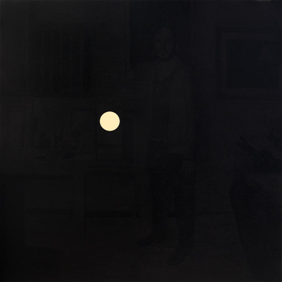 Autorretrato con proyector, 2013