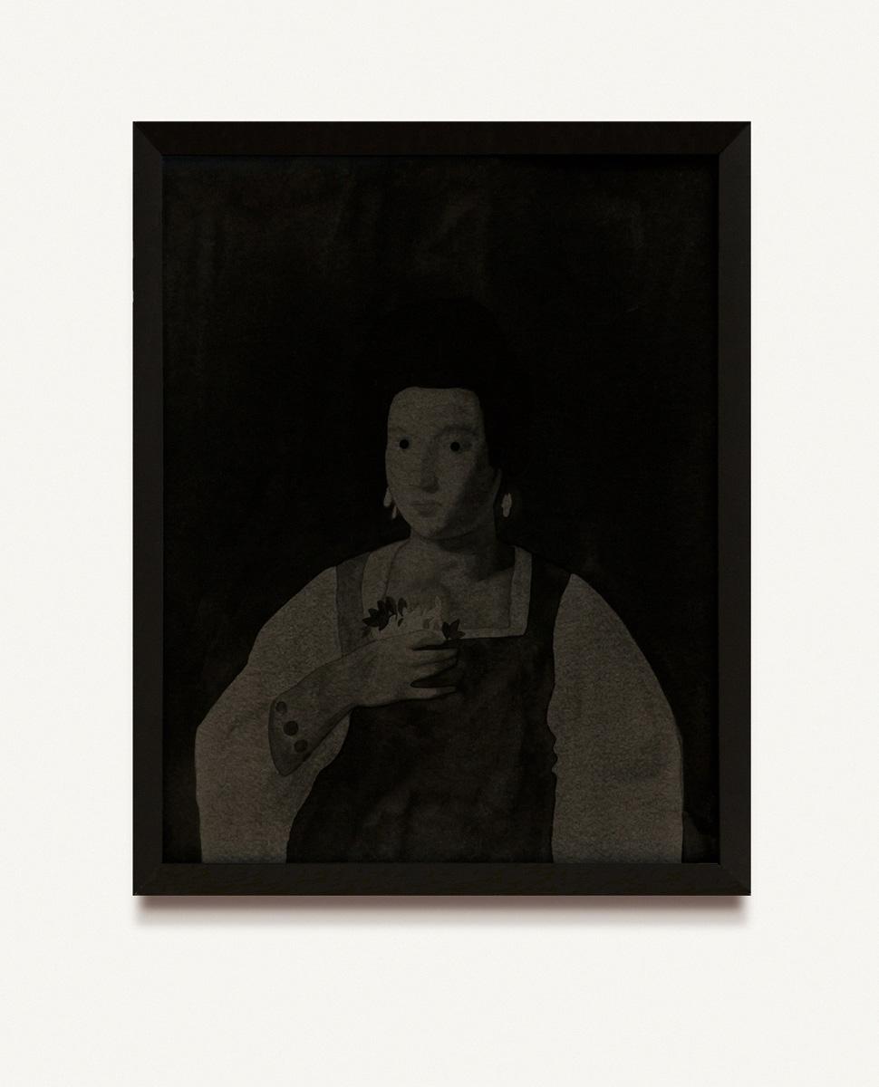 Retratos perdidos. Caravaggio, Retrato de una cortesana, 1597. 2015