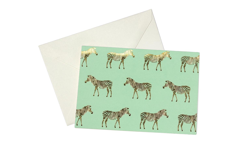 Greenroom-Metallic-Zebra-Blank-Card