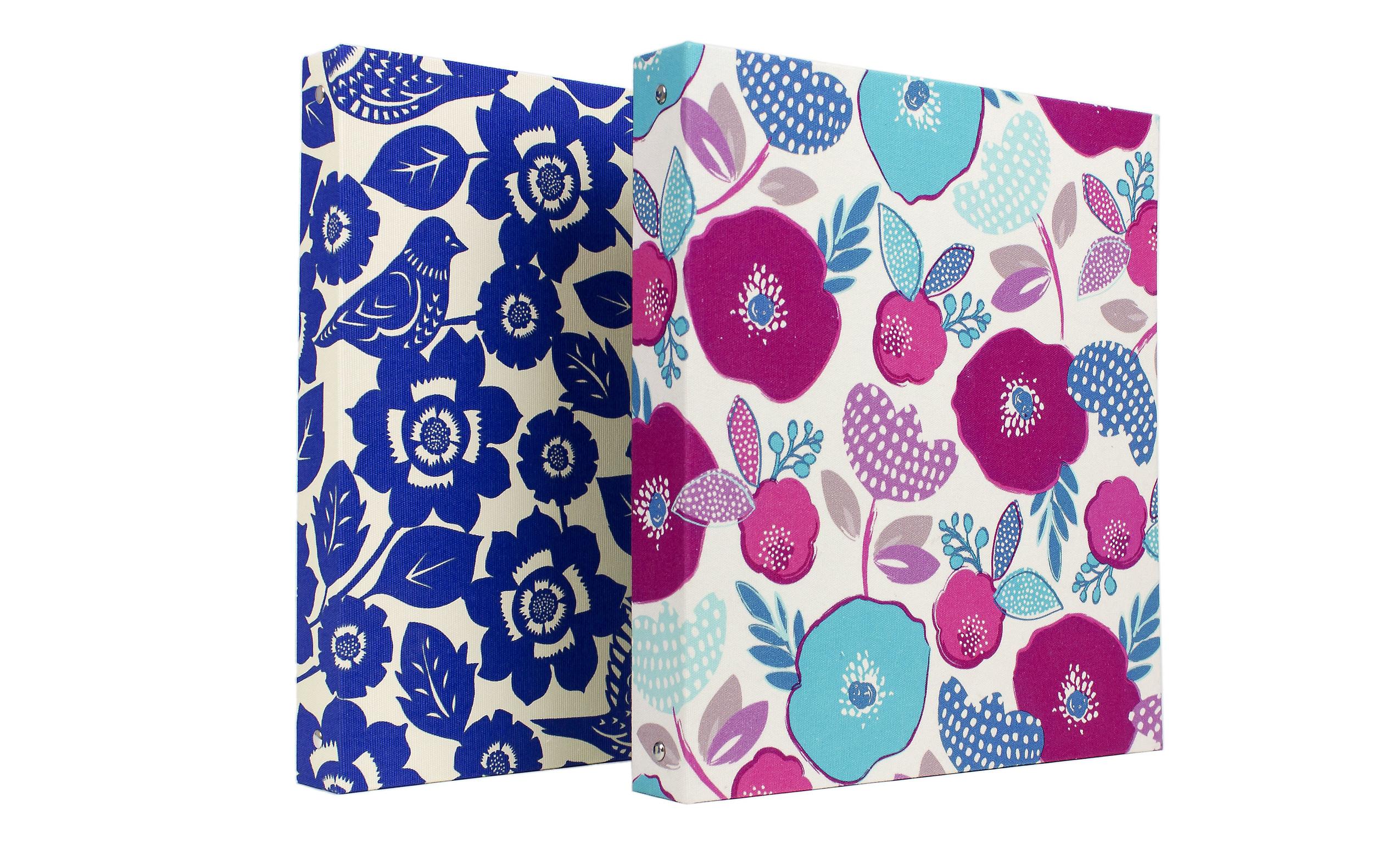 "1"" Ring Binder - Fabric // Greenroom, available at Target"