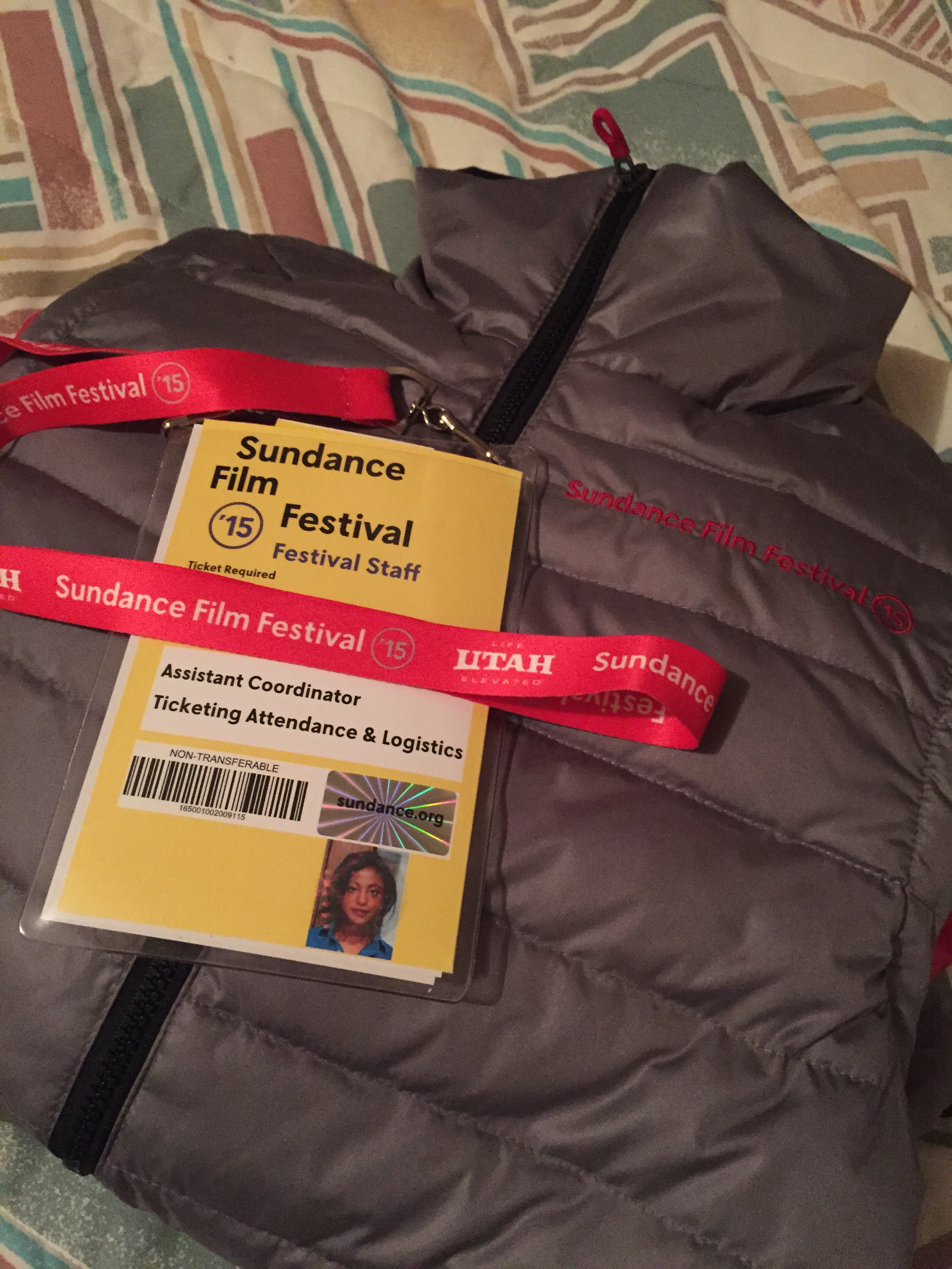 Credential and Jacket!