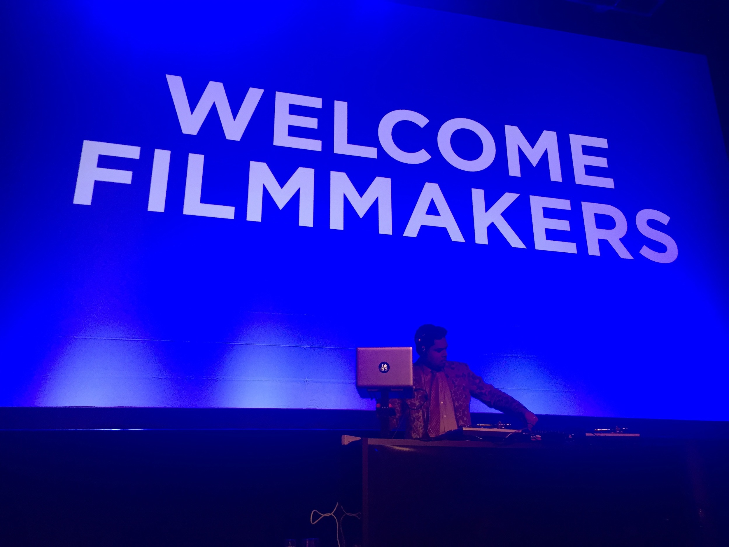 The Filmmakers Welcome Party!