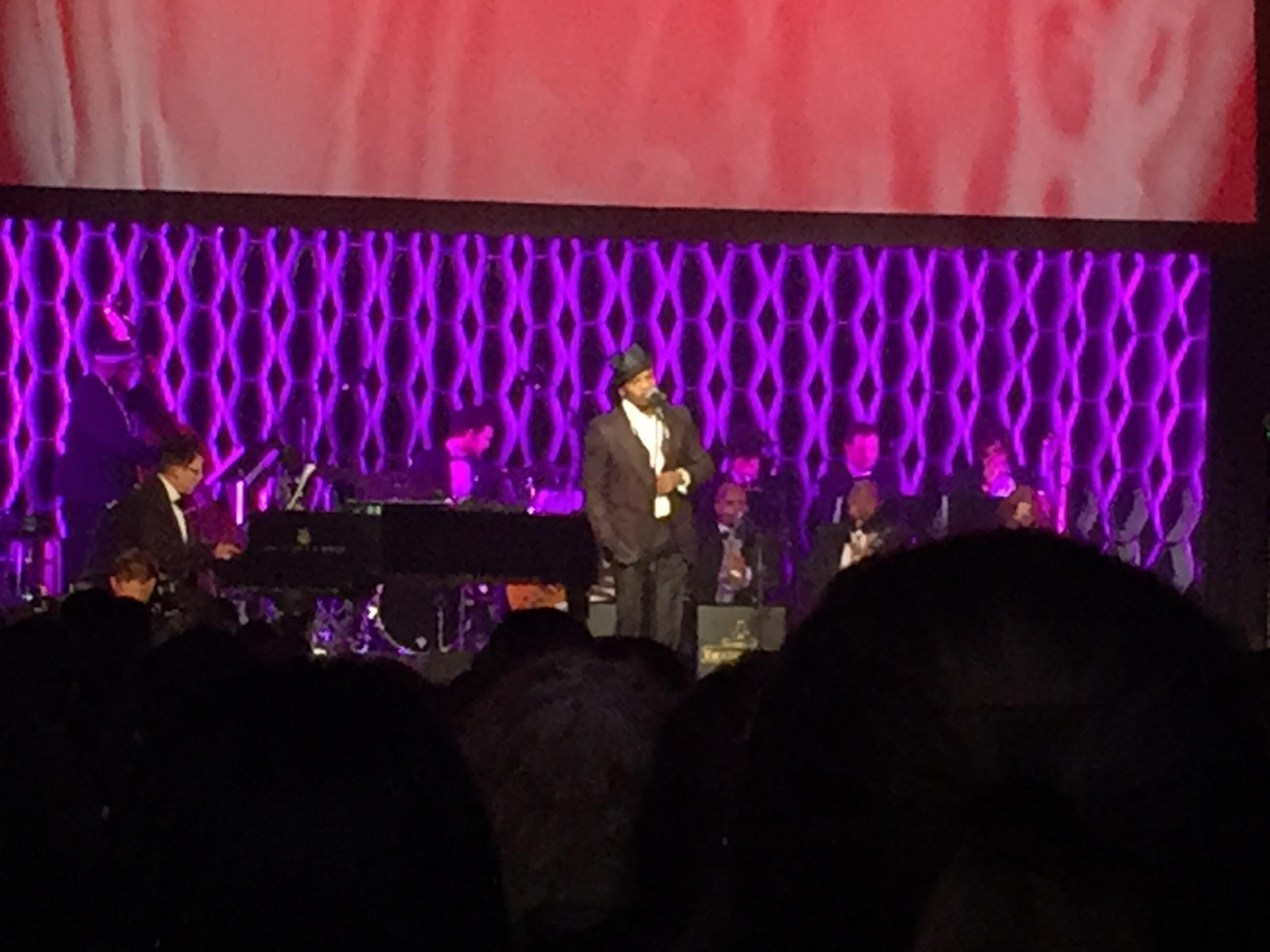"""Ne-Yo sining away at""""Sinatra at 100: Film & Music"""""""
