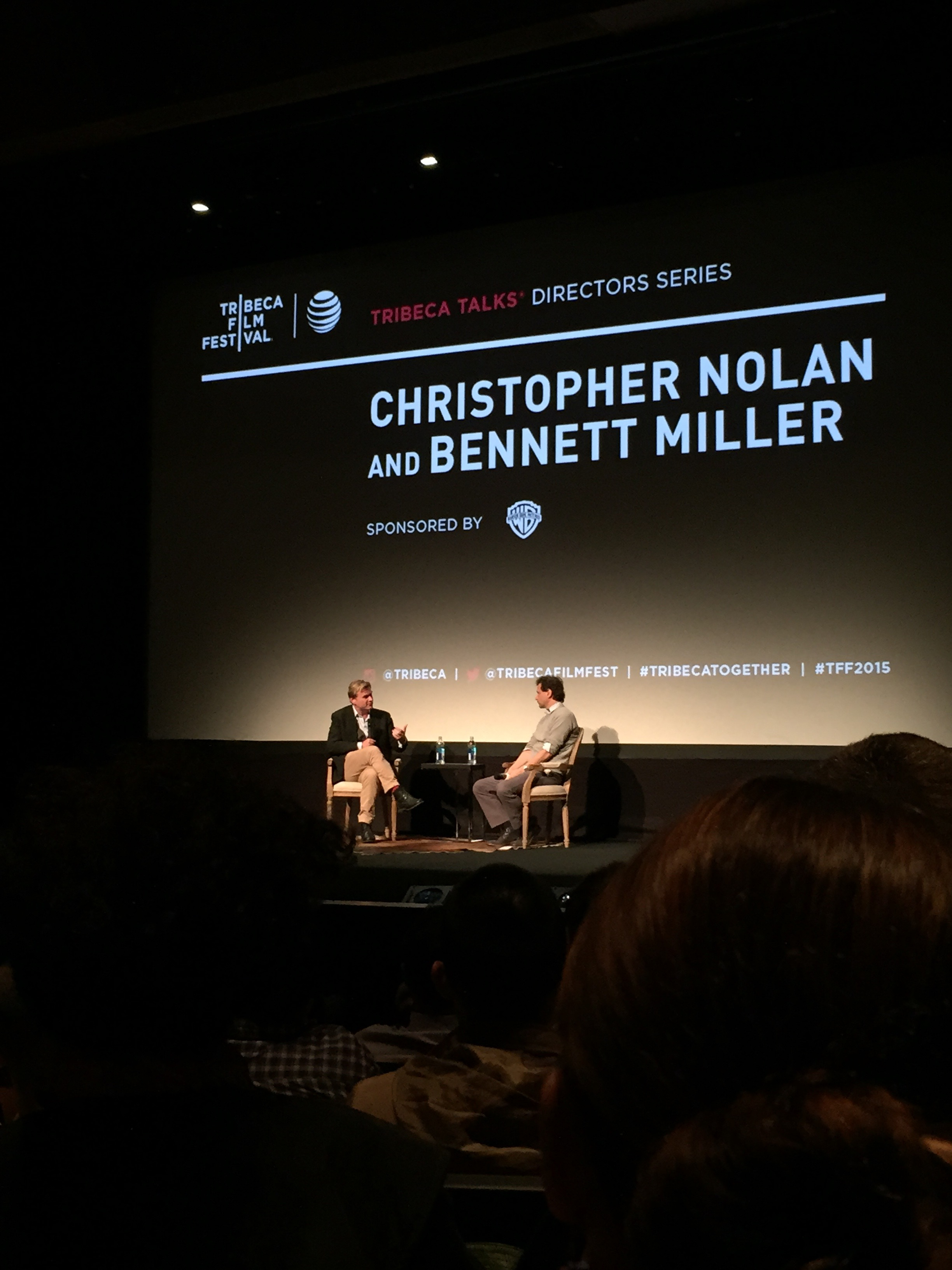 "Christopher Nolan & Bennett Miller: Of course someone asked him about the ending of ""Inception"""