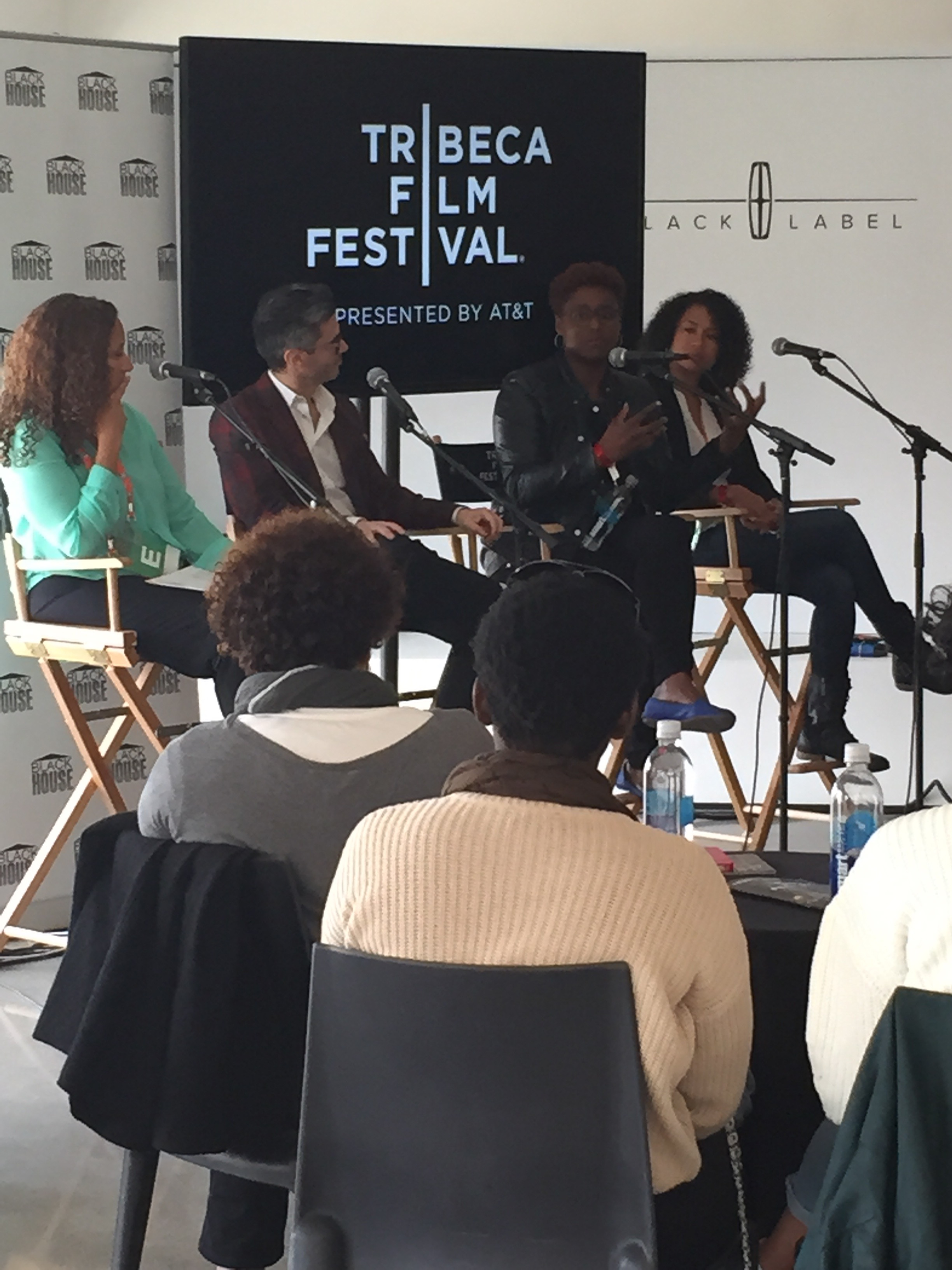 Issa Rae (Awkward Black Girl) Tea Talk at Spring Studios!